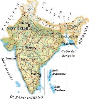Cartina India Nepal.Home Novita